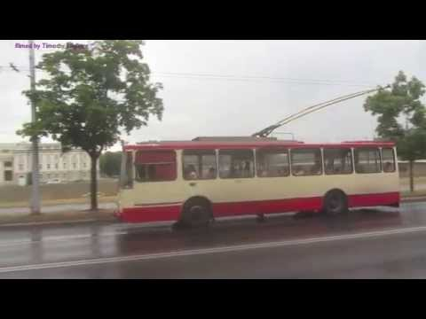 Trolleybuses/trackless trolleys in Vilnius, Lithuania