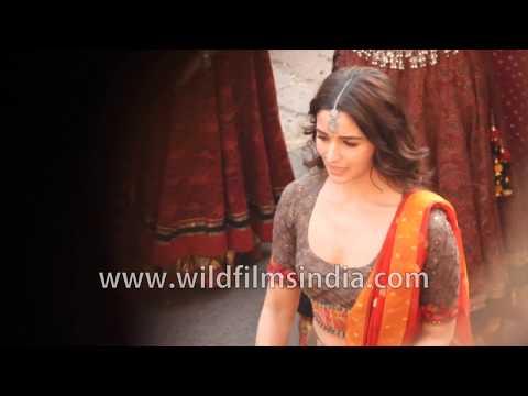 Actress Alia Bhatt dances : first look of Kalank film