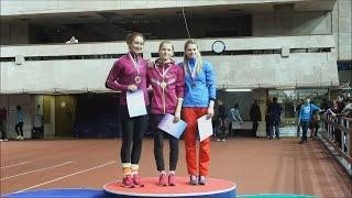 Russian Indoor Championships 2015 - Pole Vault Women - Award Ceremony!
