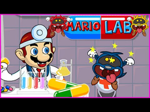 Mario Lab Level 1-12 Walkthrough