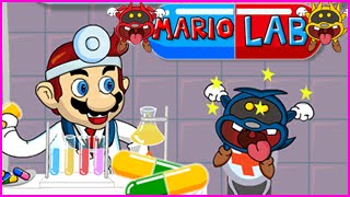 Mario Lab Level 1-12 Walkthrough