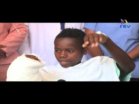 Doctors at KNH reattach boy's chopped off hand