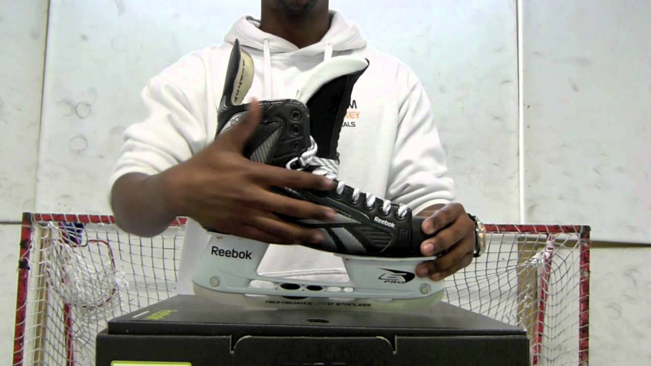 72474d1b71c Reebok 20K Ice Hockey Skates Review - YouTube