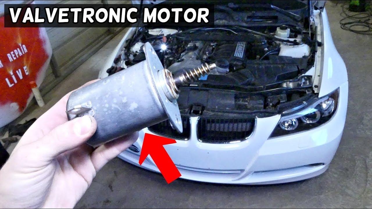 HOW TO REMOVE AND REPLACE VALVETRONIC MOTOR ON BMW E90 E91 E92 E93