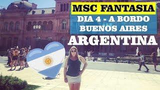Tema: MSC FANTASIA 2019 - VLOG DO DIA 4 A BORDO   ARGENTINA - BUENO...