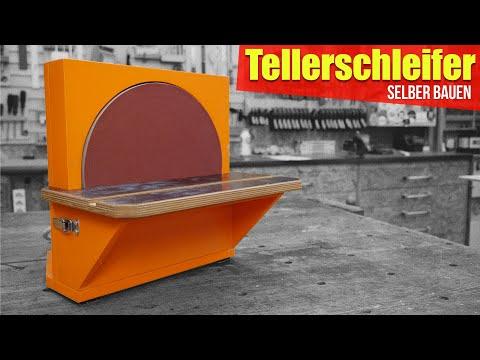 Tellerschleifer selber bauen | Anleitung Selbstbau Tellerschleifmaschine |  2/4