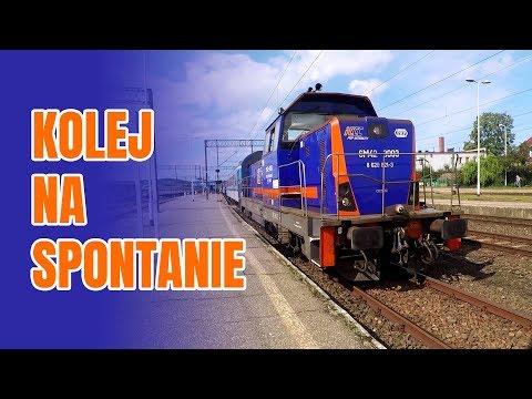 Kolej Na Totalnym Spontanie - Bilet Weekendowy + Polregio    Pomorze + Półwysep Helski