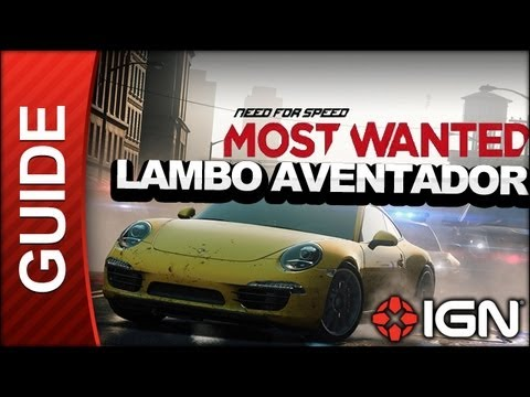 Need For Speed Most Wanted - Lamborghini Aventador - Park and Country Race