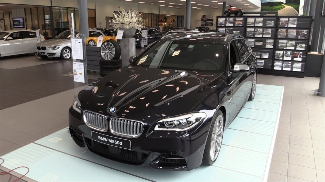 BMW M550d 2015 In depth review Interior Exterior - YouTube