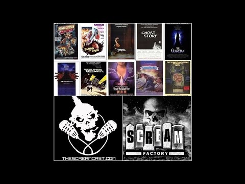 ScreamCast 68: Scream Factory SDCC Title Announcements Mayhem!