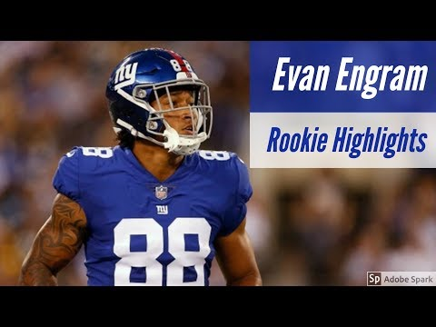 Evan Engram Complete Rookie Highlights 2017