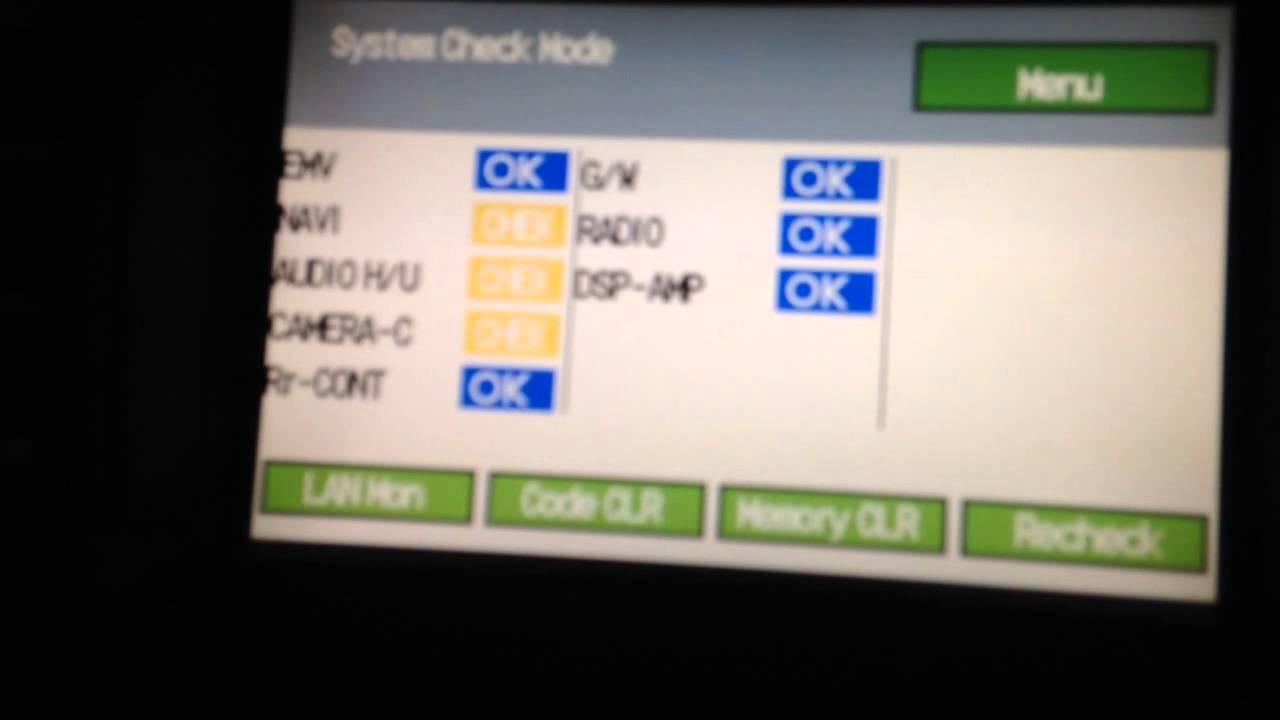 Lexus LS430 hidden menu service check reset etc