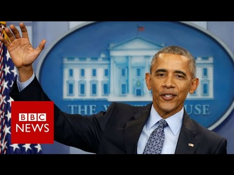 Obama's advice to Trump: 'Reality bites' - BBC News