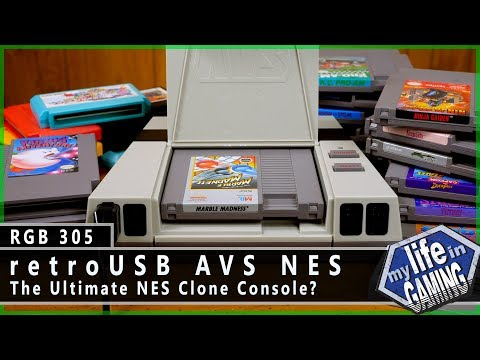 RGB305 :: retroUSB AVS NES - The Ultimate NES Clone Console? / MY LIFE IN GAMING