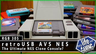 retroUSB AVS NES :: RGB305 / MY LIFE IN GAMING