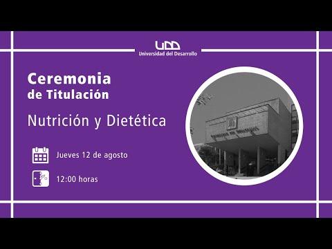 Ceremonia de Titulación | Nutrición y Dietética | Sede Concepción