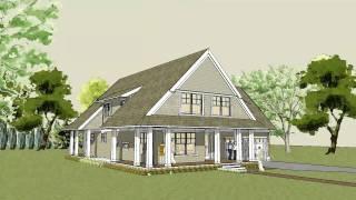 Simple, Unique, Modern Cottage House Plan - Afton Cottage