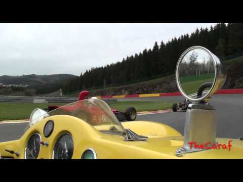 "Devin type ""D"", chasing classic Formula 1 cars, 150km/h+ without screen!!"
