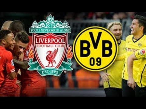 Liverpool - Dortmund 4-3 | Highlights | 14.04.2016