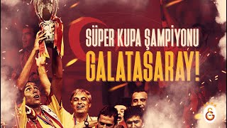 Real Madrid 1-2 Galatasaray | UEFA Süper Kupa Finali (25.08.2000)