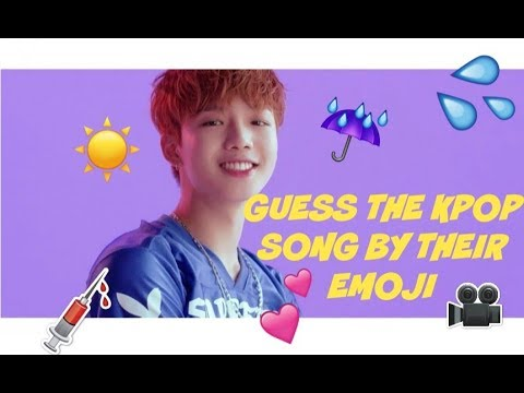 [ KPOP GAME ] GUESS THE KPOP SONG BY THERE EMOJI - MAYA