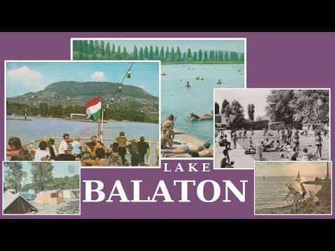 LAKE BALATON  Hungary  1950-80's   Old Postcards - Draglion Collection DC Video 2018