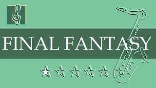 Tenor Sax & Guitar Duet - To Zanarkand - Final Fantasy X (Sheet Music)