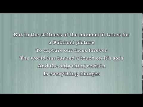 Polaroid Picture By Frank Turner Lyrics - YouTube