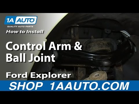 How To Install Upper Control Arm and Ball Joint 2002-05 Ford Explorer Mercury Mountianeer