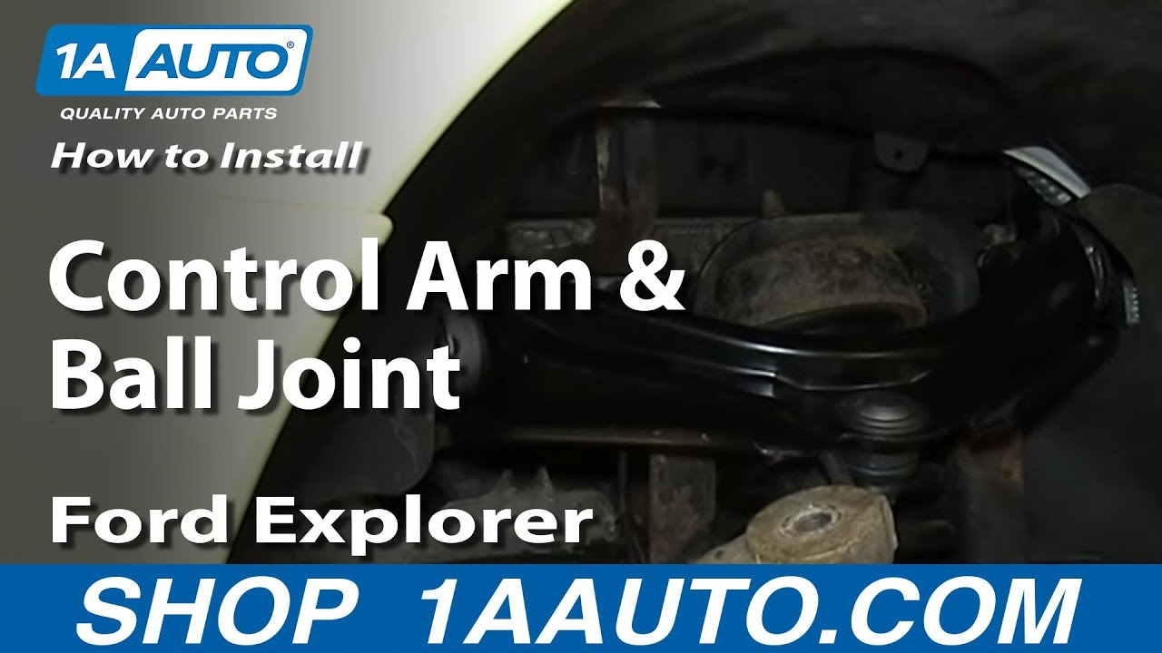 hight resolution of how to replace upper control arm and ball joint 02 05 mercury mountianeer