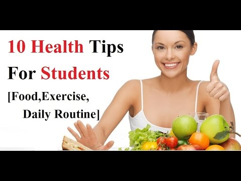 101 Health and Wellness Tips for College Students ...
