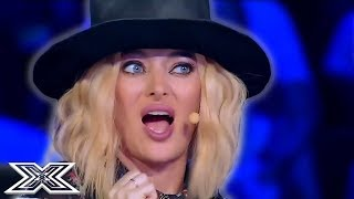 JUDGES Can't Stop Dancing During Audition! | X Factor Global