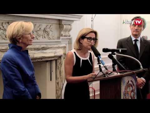 Minister Emma Bonino Meets the Italian Community in NYC