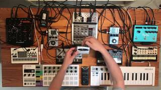 Our Volca Setup: How Is Everything Connected? (2018-06-03)