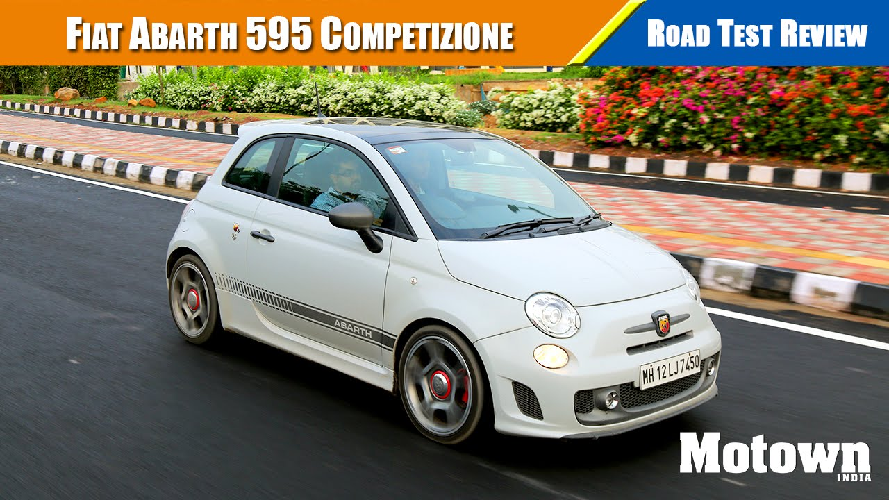 fiat abarth 595 competizione | road test review | motown india