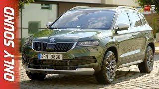 NEW SKODA KAROQ SCOUT 2019 - FIRST TEST DRIVE ONLY SOUND