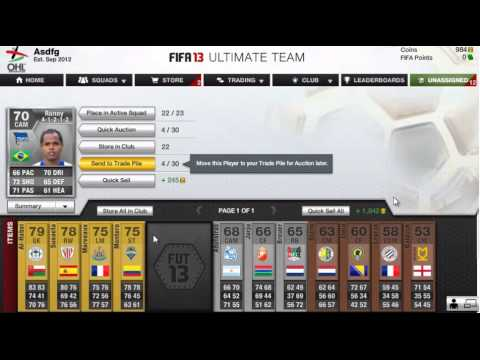 """FIFA 13  - Road To A Million Ep.1 - """"My Yearly Pack Opening"""""""