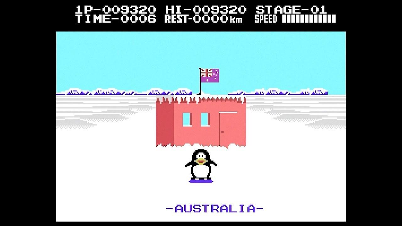 Antarctic Adventure - ColecoVision
