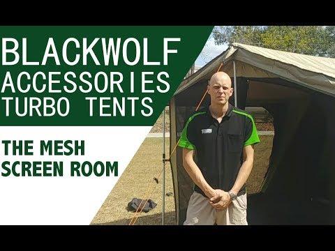 Blackwolf Turbo Tent Screen Room Accessory Demo Benefits Explained Youtube