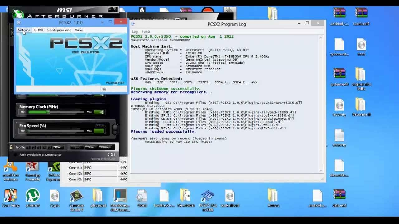 le bios de pcsx2 1.0.0 r5350