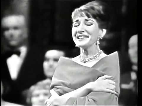 Maria callas casta diva paris 1958 youtube - Callas casta diva ...