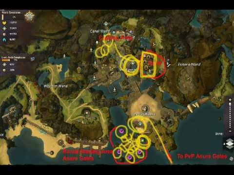Azy's Guide to Guild Wars 2 - Lion's Arch and the Mist Gate Travel Guide (OUTDATED)