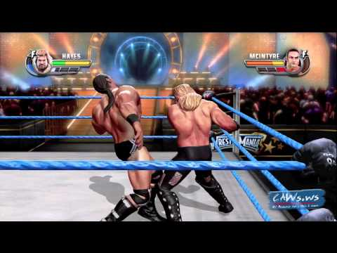 ALL STARS DLC Michael Hayes Entrance and Gameplay
