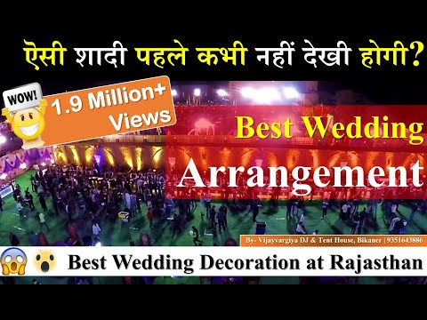 Best wedding Arrangements in Bikaner