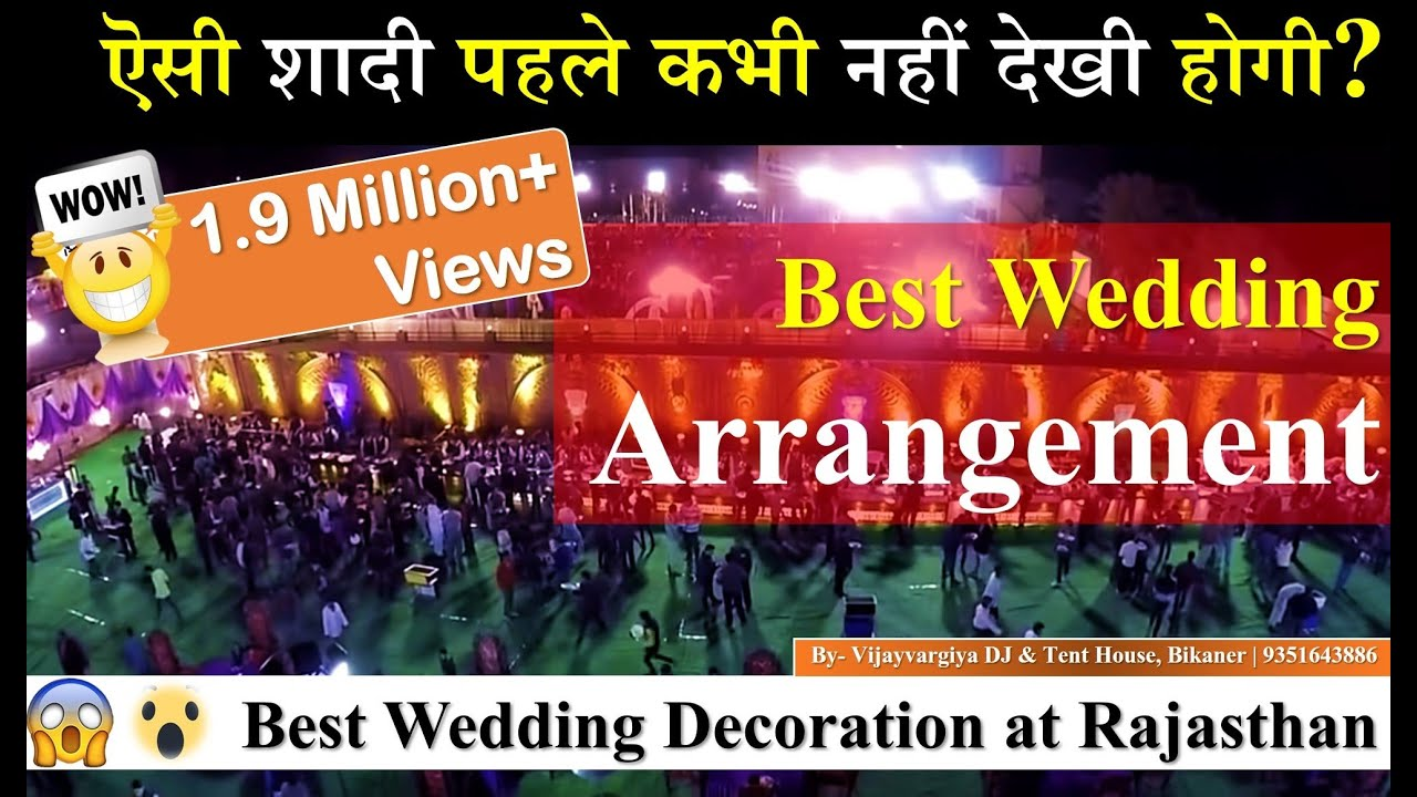 Best Wedding Arrangements In Bikaner