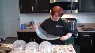 How to Dye a Plastic Visor (PETG)