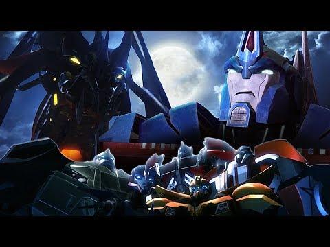 Мультфильм трансформеры охотники на чудовищ