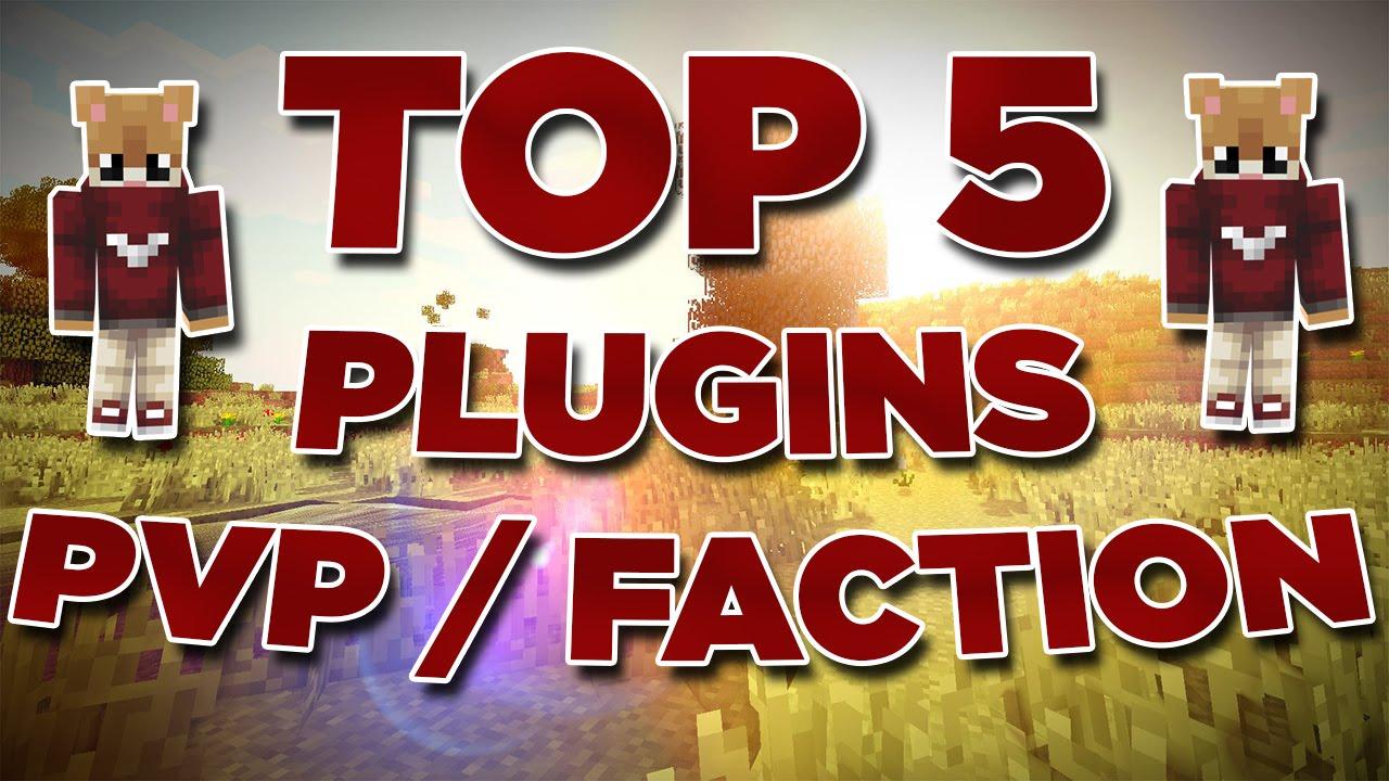 top 5 best plugins minecraft pvp faction 1 8 8 1 8
