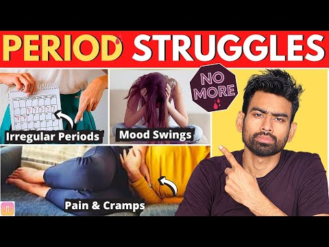 SAY GOODBYE To Period Problems Forever (Irregular Periods, Menstrual Cramps, PMS, Over Bleeding Etc)