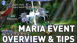 Dissidia FF Opera Omnia: Maria Event Overview & Tips